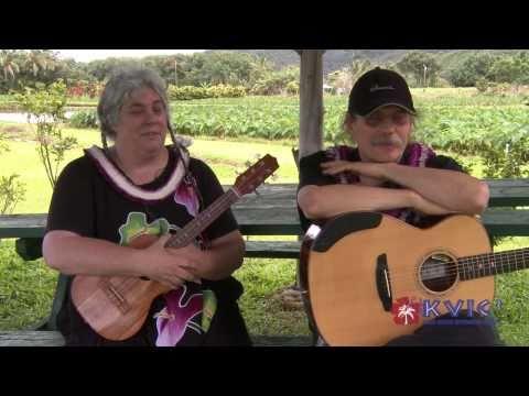 Doug & Sandy McMaster Broadcast - Slack Key Guitar & Ukulele - KVIC-TV, myKauai.com