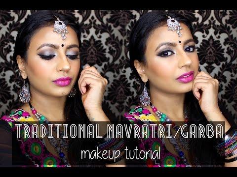 makeup by ethnico-Traditional Navratri/Garba Makeup Tutorial
