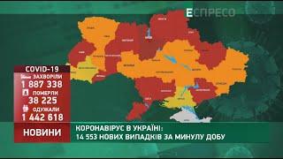 Коронавірус в Украі ні статистика за 14 квітня