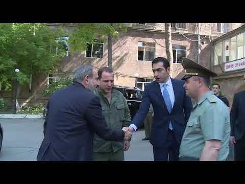 Վարչապետն այցելել է ՊՆ կենտրոնական կլինիկական զինվորական հոսպիտալ