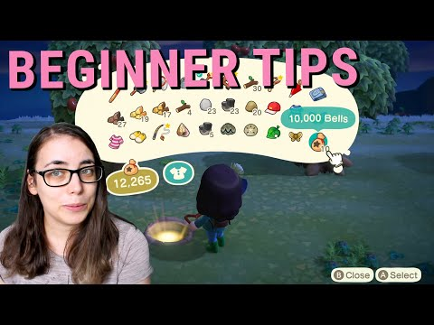 10 BEGINNER TIPS FOR ANIMAL CROSSING NEW HORIZONS - Glowing spots, floating presents