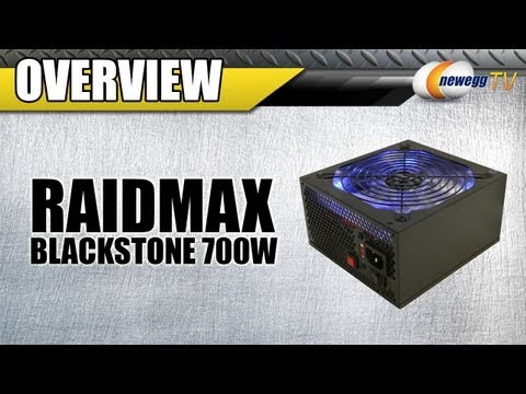 Newegg TV: RAIDMAX Blackstone Series 700W Modular Power Supply Overview