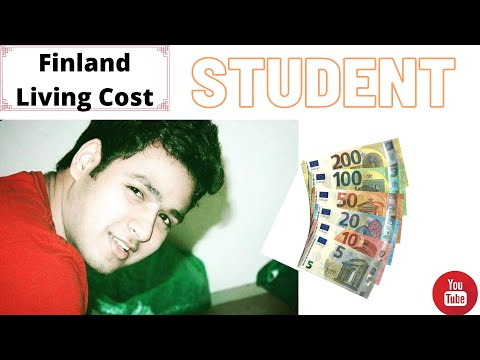 Average Daily Living Cost in Helsinki, Finland   For Student