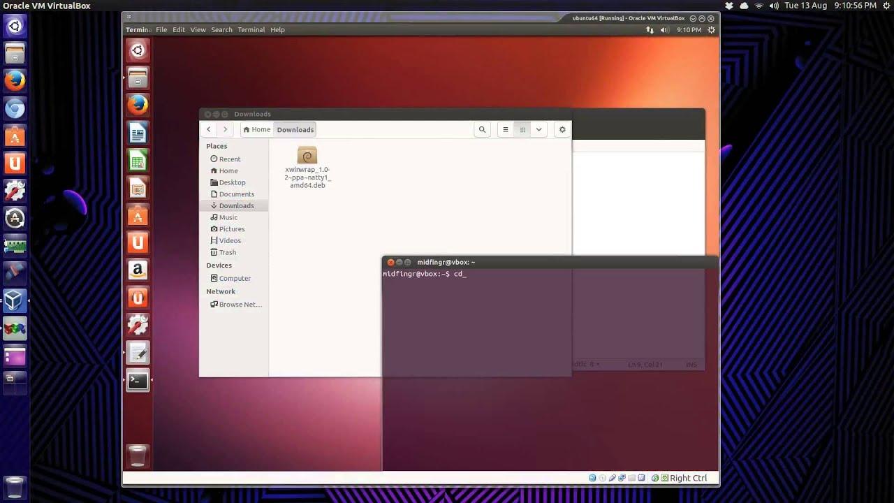 ubuntu dreamscene video