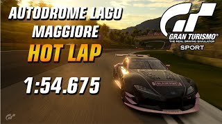 GT Sport Hot Lap // Daily Race B (19.08.19) Gr.3 // Lago Maggiore