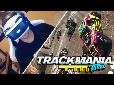 """PROBANDO LAS ACROBACIAS DE TRACKMANIA TURBO VR"" 