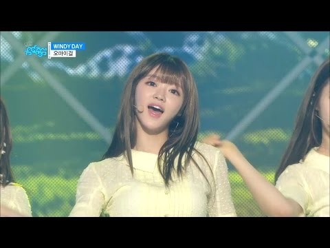 【TVPP】OH MY GIRL – Windy Day, 오마이걸 – 윈디 데이 @Show! Music Core