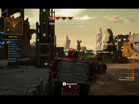 Slugga boy vs Space Marines, Zedec - Warhammer 40 000: Eternal Crusade