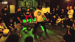 A.K.A TWO vs RUBBER J / Semifinal 1 / One Nation Under A Groove Vol.2 / Allthatstreet