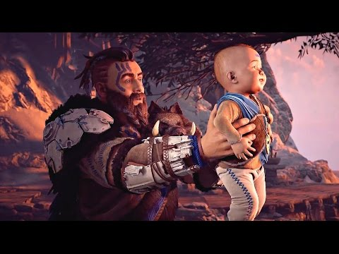 Horizon Zero Dawn - Gameplay Walkthrough Part 1 - Prologue (Full Game) PS4 PRO
