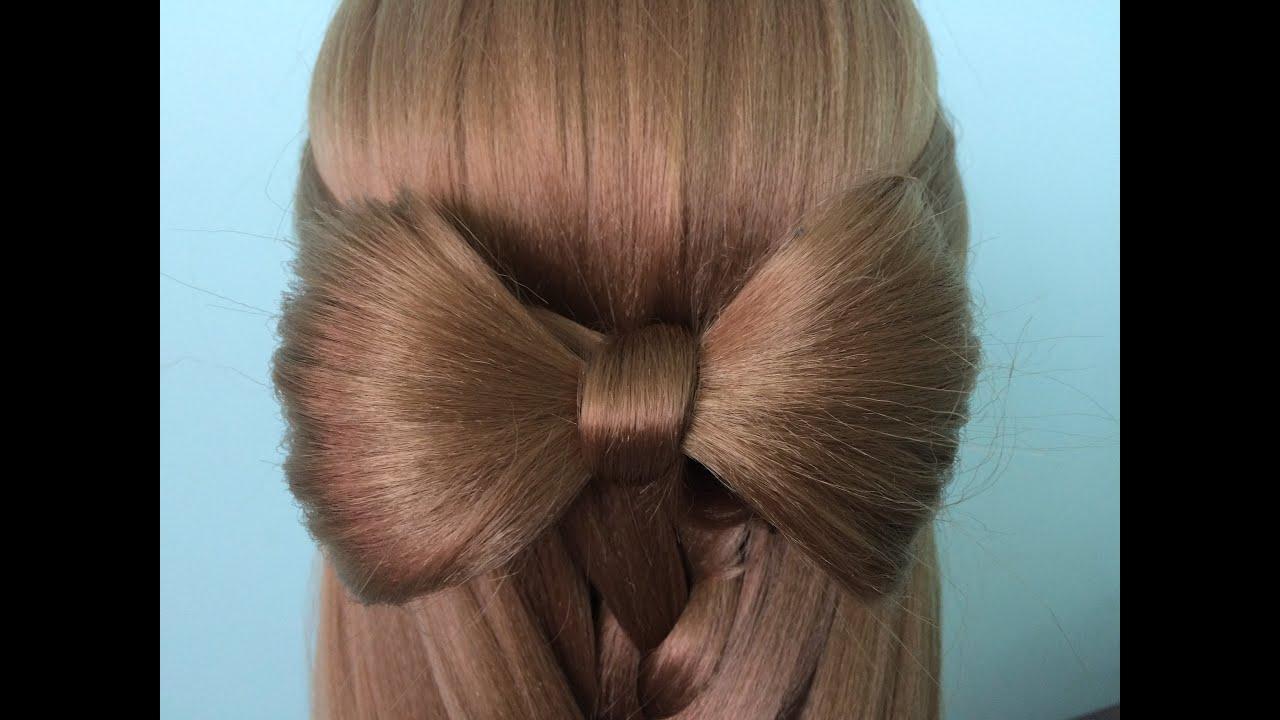 AnaTran – Tóc nơ xinh đẹp dự tiệc cuối tuần trong 5 phút