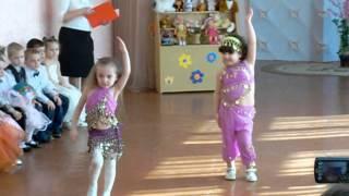 восточный танец детский