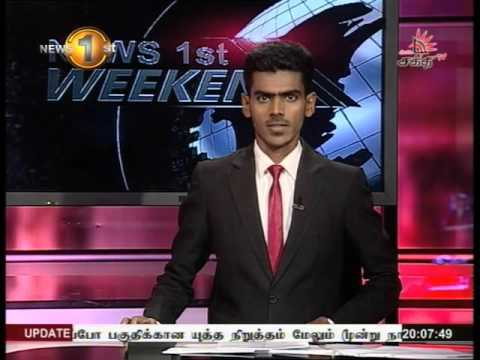 News 1st Prime time 8PM  Shakthi TV 07th May 2016