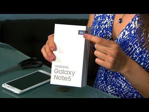 Unboxing: Samsung Galaxy Note 5 en español
