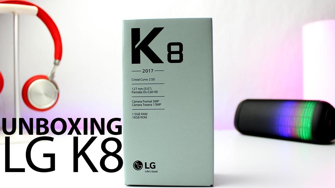 El nuevo smartphone LG k8 2017 Nueva Generacion tecnocat