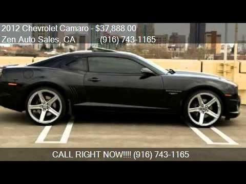 2012 Chevrolet Camaro 2 Ss 45th Anniversary Showcar For Sal Youtube