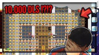 WTF !?!? 10000+ DIAMOND LOCKS !! SULTAN PHOENIX WINGS !! - Growtopia Indonesia