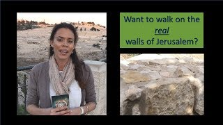 RS Tours: City of David Highlights - Part 2 - Jeremiah, Palace, Walls