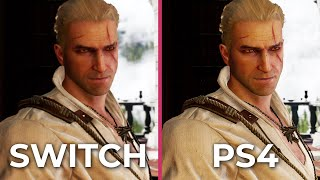 The Witcher 3 – Switch (Docked) vs. PS4 Frame Rate Test Graphics Comparison