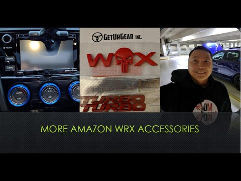 More Subaru WRX accessories from Amazon online shopping