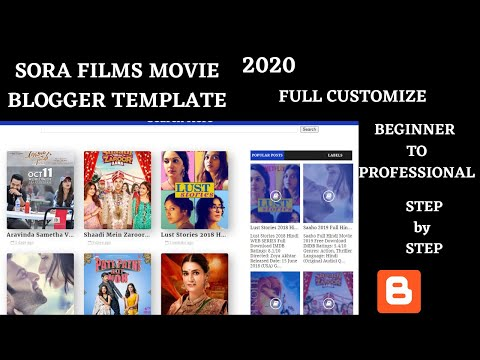how-to-make-movie-downloading-website-for-free-and-add-ads-in-it-|-sora-films-template-2020-|-seo