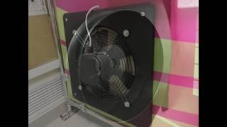 видео промышленные вентиляторы