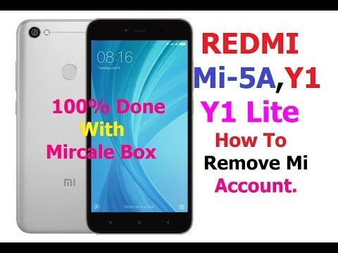 Download How To Delete Mi Account Redmi Mi Y1 Y1 Lite With Mircale