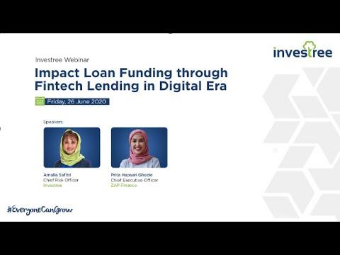 Webinar Impact Loan Funding Through Fintech Lending In Digital Era