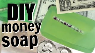 DIY Money Soap | Soap With Money Inside!