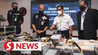 Power-hungry: Bitcoin syndicate busted by cops for stealing RM24mil worth of electricity