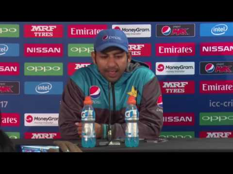Sarfaraz ahmed || pakistan captain's funny english - YouTube