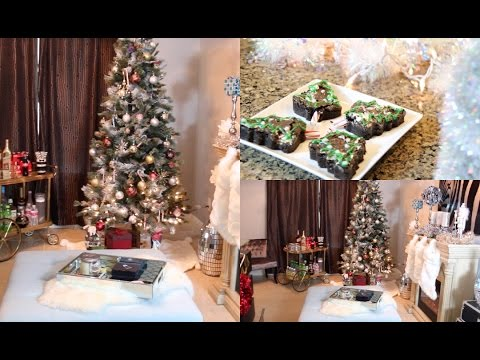 Christmas Decorations Ideas 2014 decorate with me! christmas room tour - christmas decorating ideas