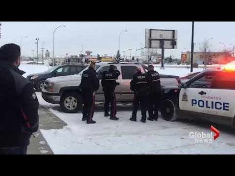 Dramatic Takedown Of Truck Theft Suspect Caught On Video In Alberta