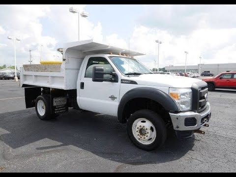 2011 Ford F-550 Super Duty XL Snow Plow Dump Truck For Sale Piqua Ohio | CP15732T