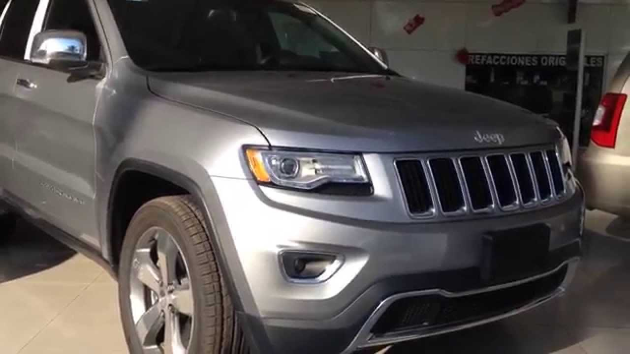 jeep gran cherokee limited lujo 6 cilindros 2015 nueva okm - youtube