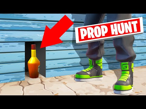 Playing PROP HUNT In FORTNITE! (*NEW* GAME MODE)
