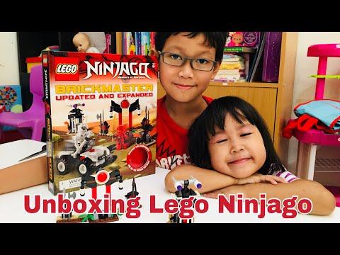 Unboxing Lego Ninjago🎉koleksi terbaru Zian😍BIg Bad Wolf