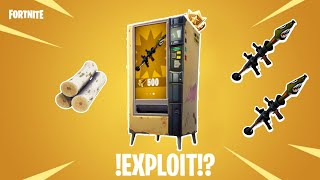 *NEW* Vending Machine Glitch!?!? || Fortnite Battle Royale