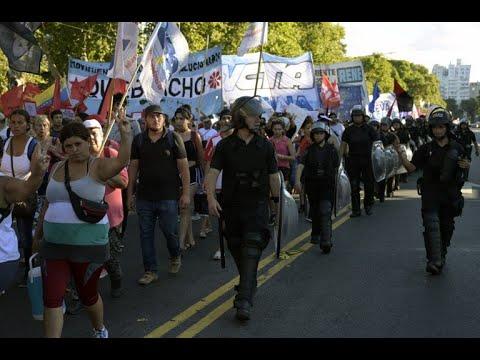 تظاهرات في الأرجنتين ضد تدخل واشنطن بشؤون فنزويلا