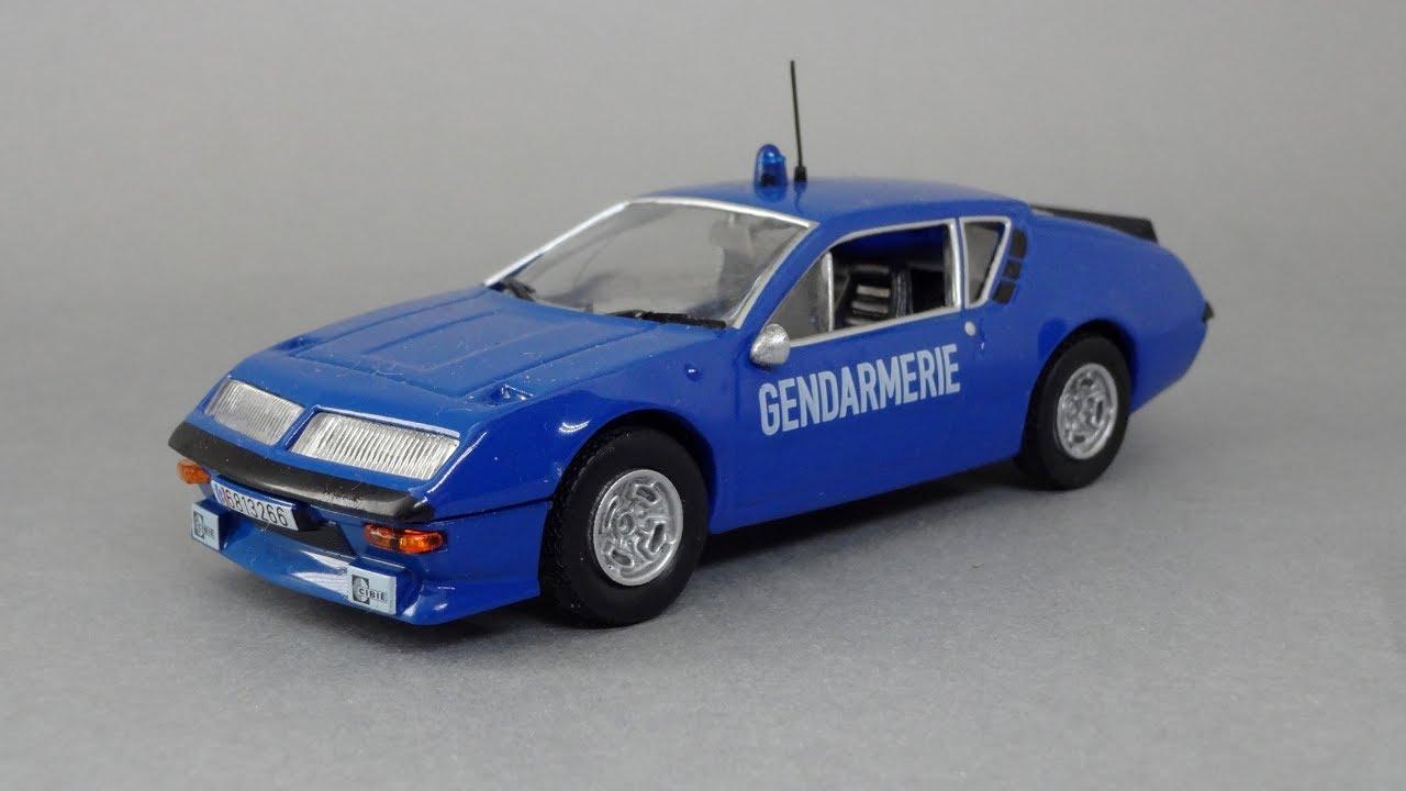 alpine renault a310 gendarmerie 1 43 deagostini youtube. Black Bedroom Furniture Sets. Home Design Ideas