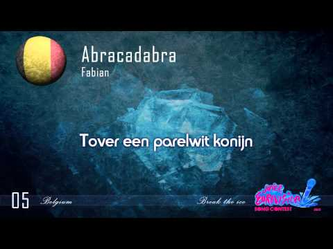 "Fabian ""Abracadabra"" (Belgium) - [Karaoke version]"