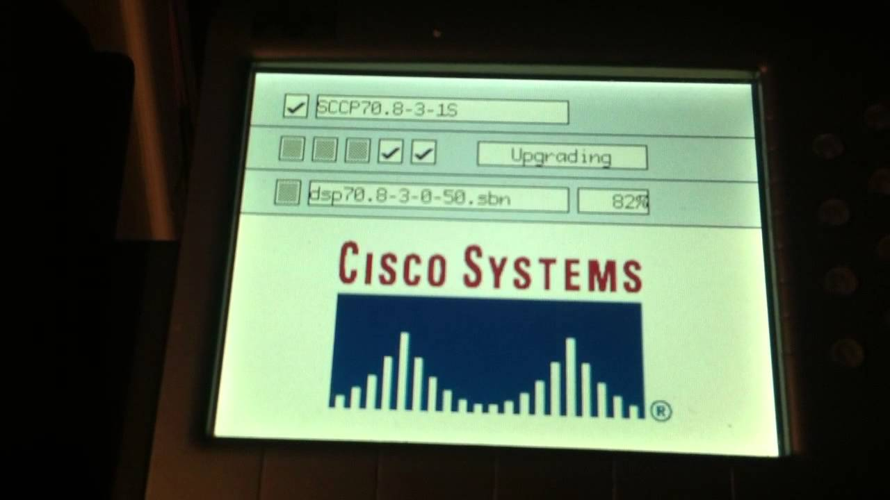 Cisco 7970 Firmware Update w/ UCM 6 (not exciting)