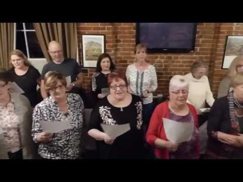 Instant Choir Beccles sings Suspicious Minds