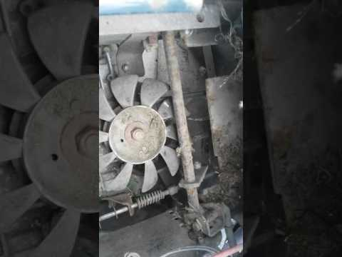 Craftsman hydrostatic transmission troubles - YouTube