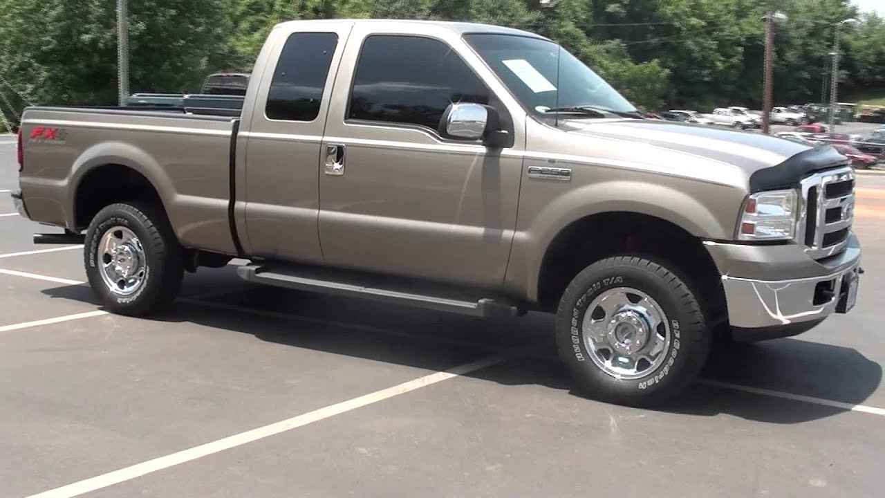 For sale 2006 ford f 250 5 4 v8 gas xlt 1 owner stk p5652