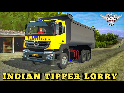indian-tipper-lorry-mod-for-bussid-|-download-mod-now-|-bus-simulator-indonesia