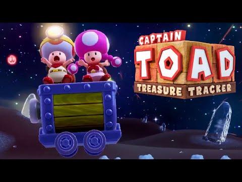 Captain Toad: Treasure Tracker - Full Game Walkthrough