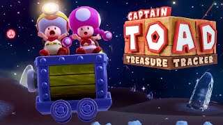 Captain Toad: Treasure Tracker - Full Game Walkthrough (Wii U)