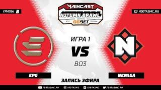 EPG vs Nemiga (карта 1), MC Autumn Brawl, Групповой этап