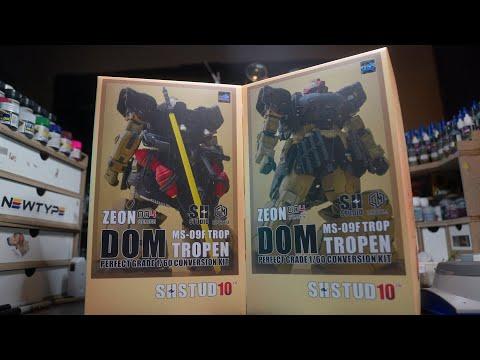 SH Studio 1/60 MS-09FTROP Dom Tropen Conversion Kit │Unboxing